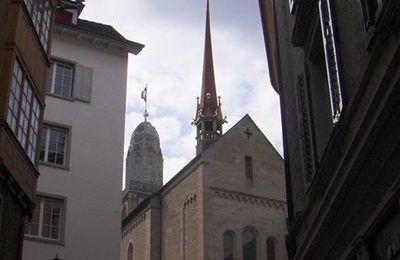 Buildings in Geneva's Old Town